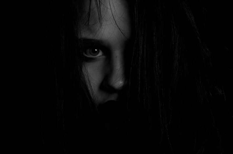I remind myself of Samara from The Ring far too often.