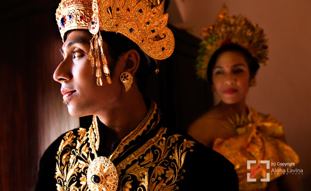 Balinese groom by Aloha Lavina. All rights reserved.