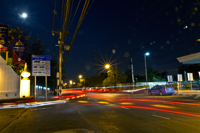 Bangkok street copyright Aloha Lavina