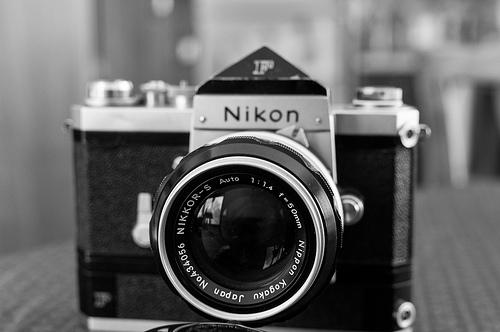Nikon F + my new (old) 50mm f/1.4