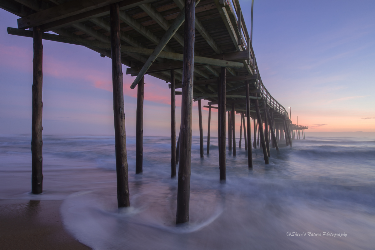 Blue Dawn at the Pier by ©Sheen's Nature Photography