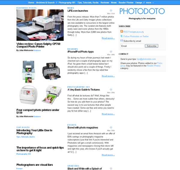 5-photo-blog-web-design