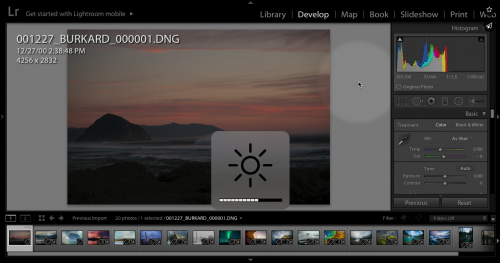 Lightroom workflow for landscape photographers