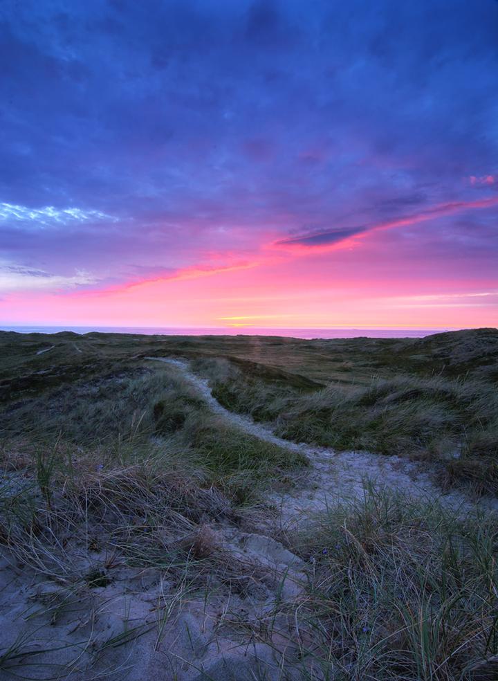 Sunset-Klitmoeller