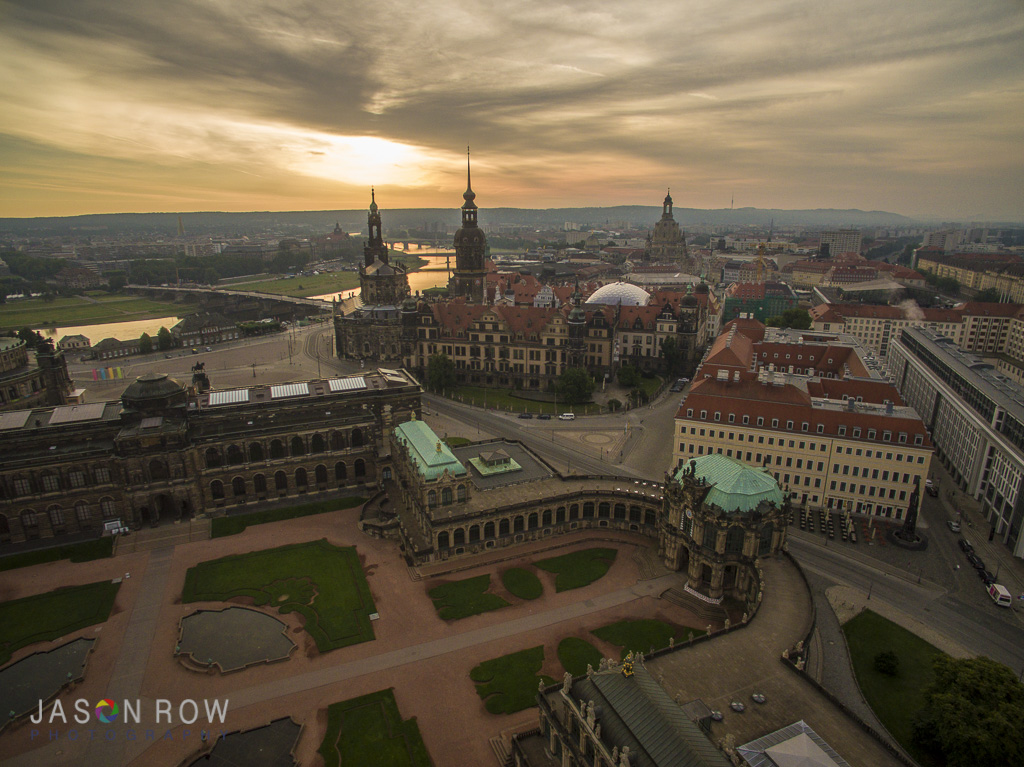 The Zwinger Palace and Theatreplatz are both very photogenic