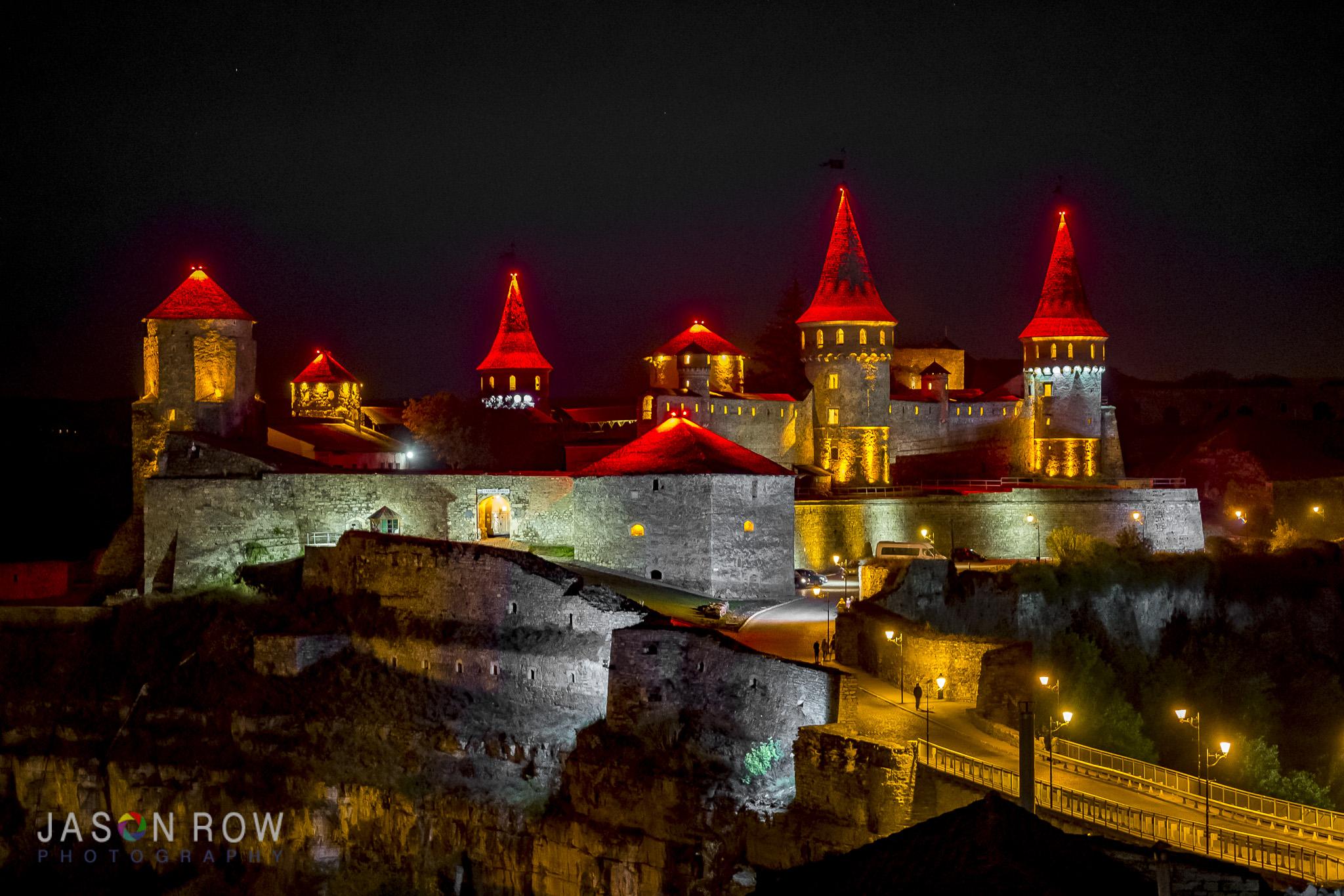 Genuine 14th Century Neon Lighting. By Jason Row Photography
