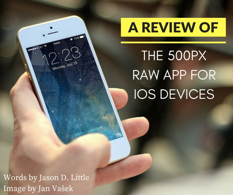500px raw app review