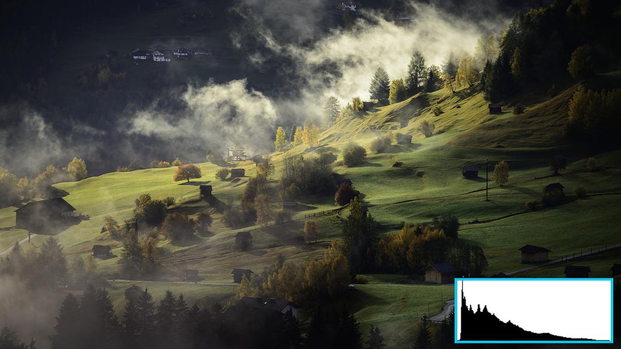 histogram_landscape photography