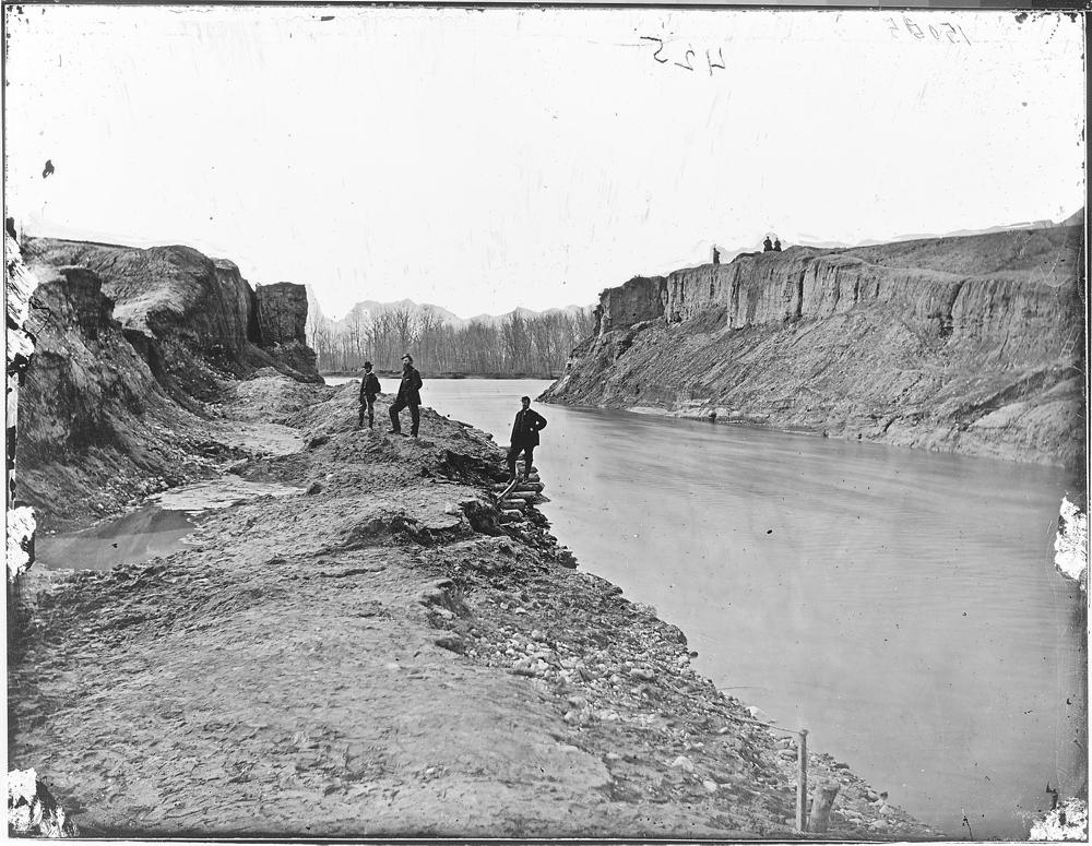 Dutch Gap Canal in 1865
