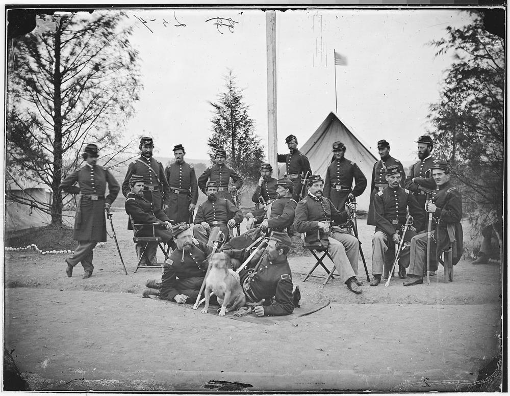 Officers of 153rd N.Y. Inf