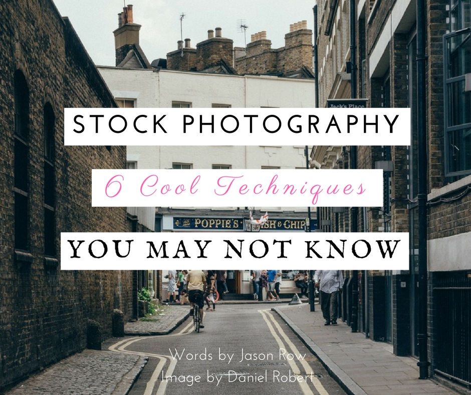 how to do stock photography