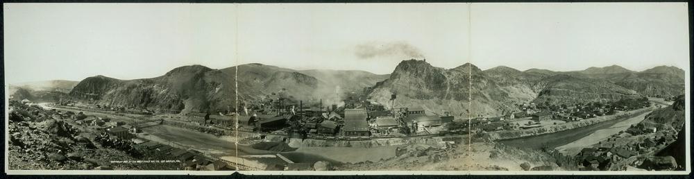 Panorama of South Clifton, Arizona