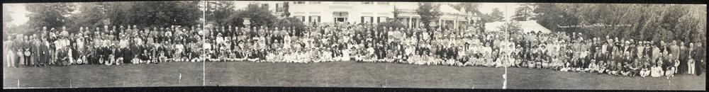Harvard, 1901, 25th reunion, Wellesley, Mass., June 22, 1926