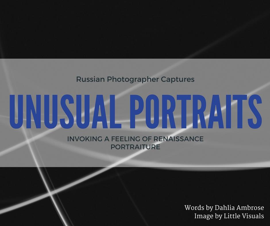 unusual portrait photography