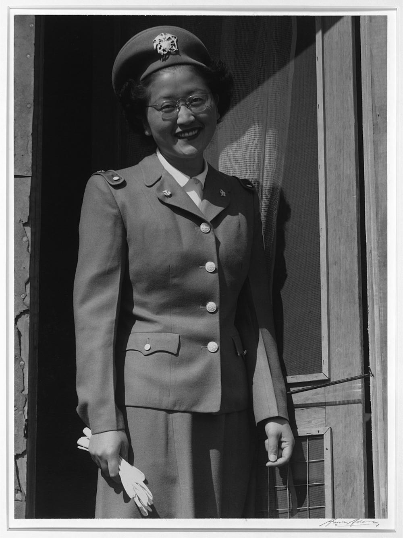 Japanese-American U.S. Naval cadet nurse, Kay Fukuda, Manzanar Series
