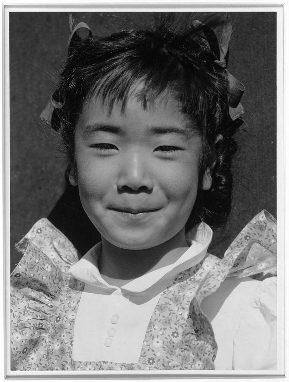 Louise Tami Nakamura, Manzanar Relocation Center, California