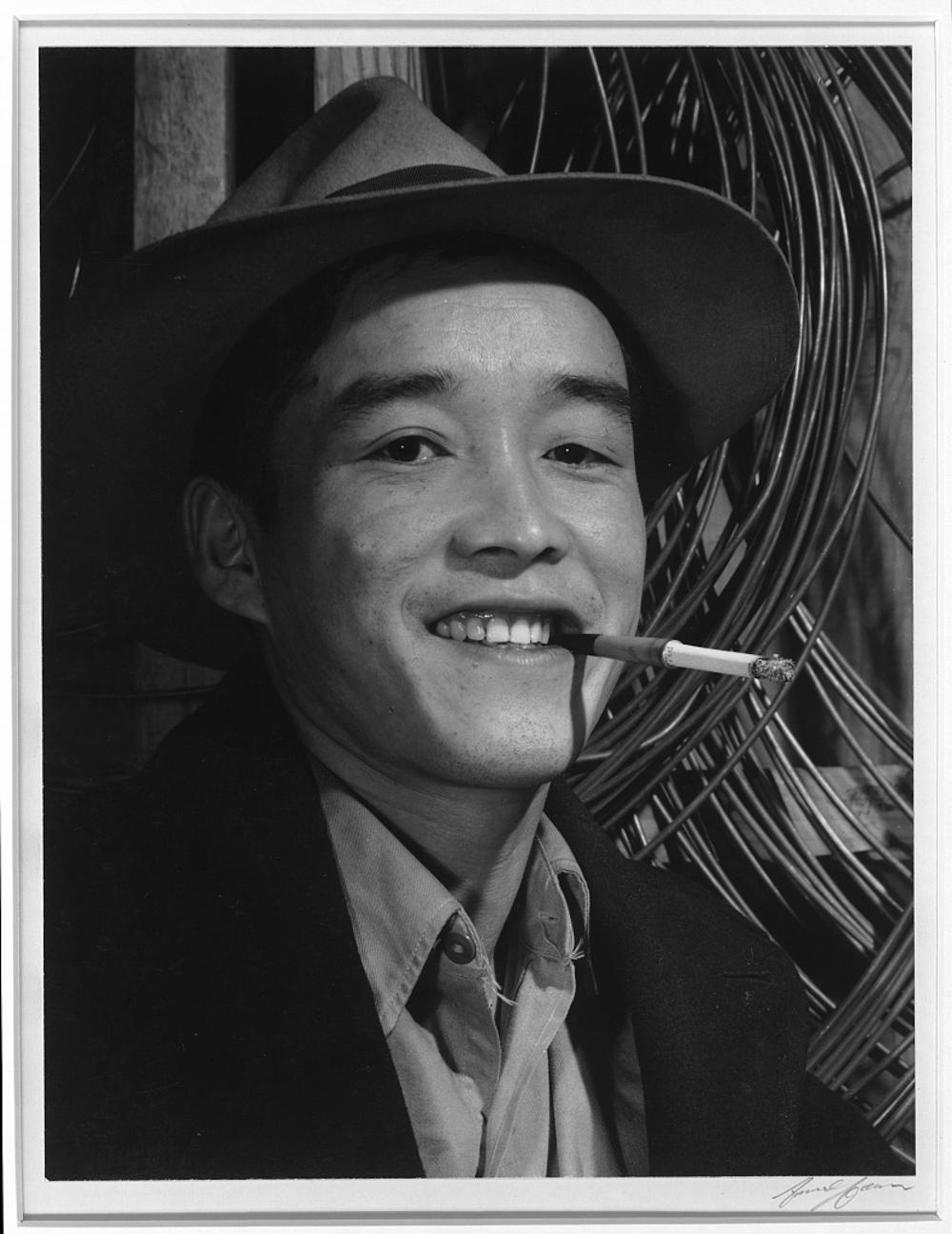 Yonehisa Yamagami, electrician, Manzanar Relocation Center, California