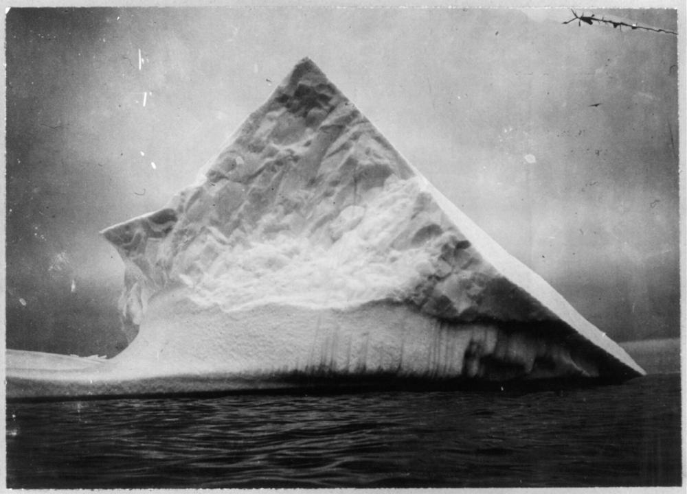 An iceberg near head of Trinity Bay, Newfoundland