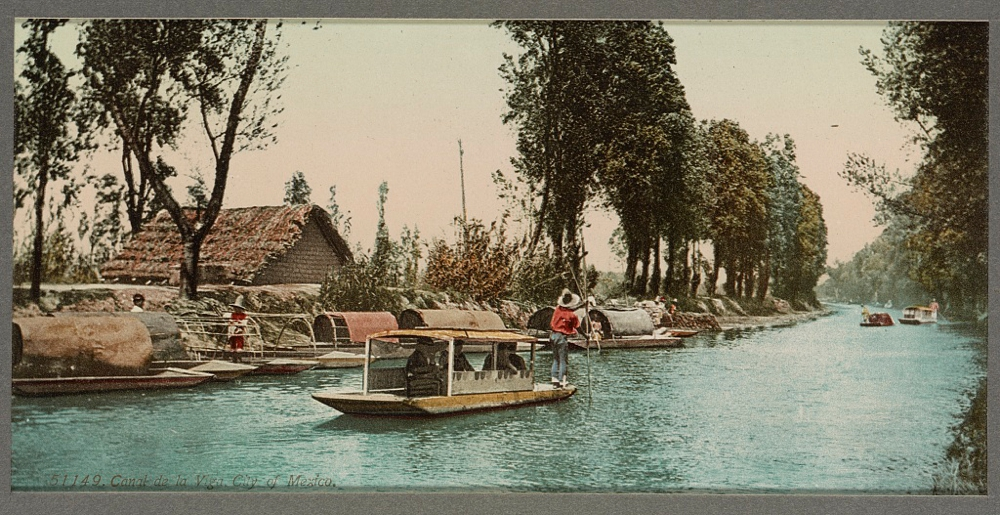 Canal de la Viga, City of Mexico