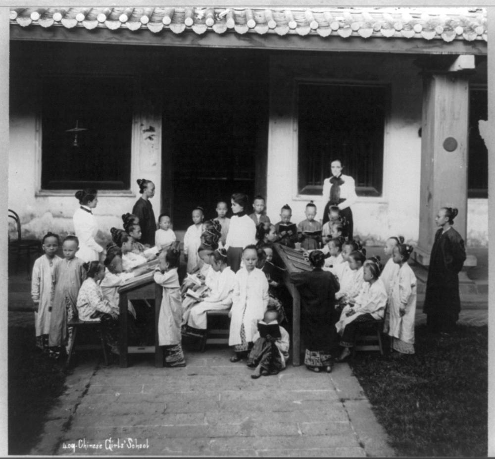 Chinese girls school, Singapore