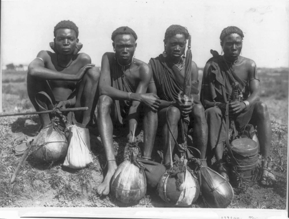 Man of the Kikayu tribe, British East Africa
