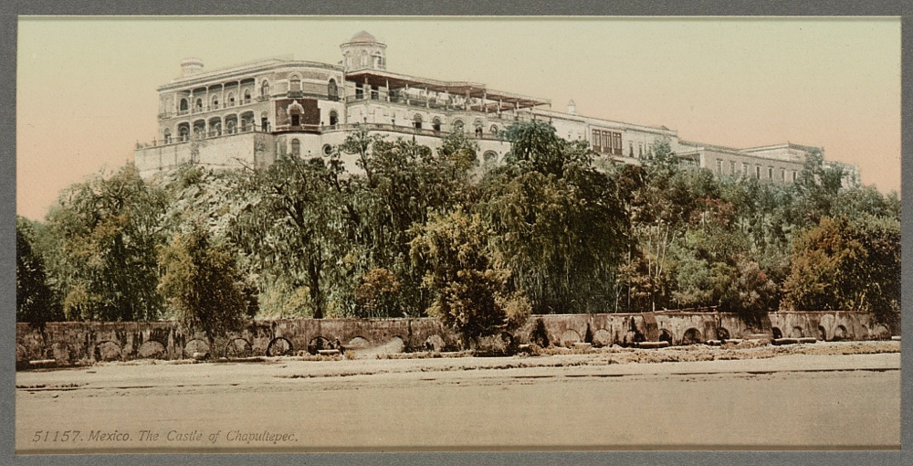 Mexico, the Castle of Chapultepec