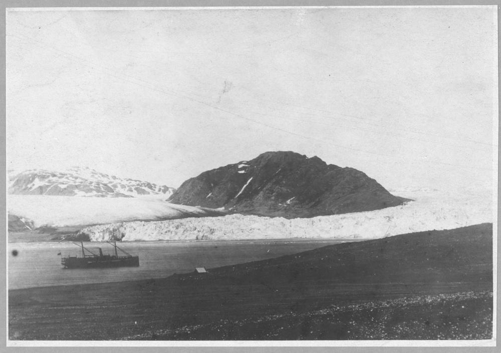 Muir Glacier, at the head of Glacier Bay, southeast Alaska