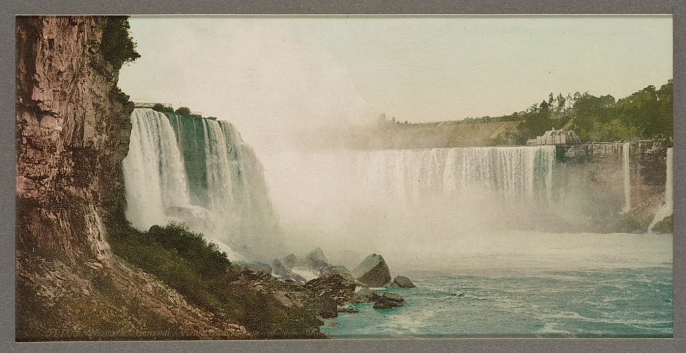 Niagara, general view from Cave of the Winds
