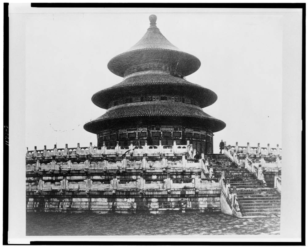 Temple of Heaven, Peking, China
