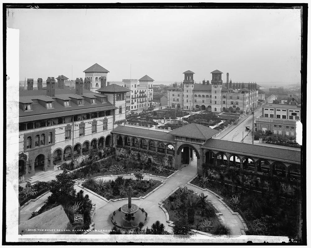 The Ponce de Leon, Alcazar, and Cordova [hotels]