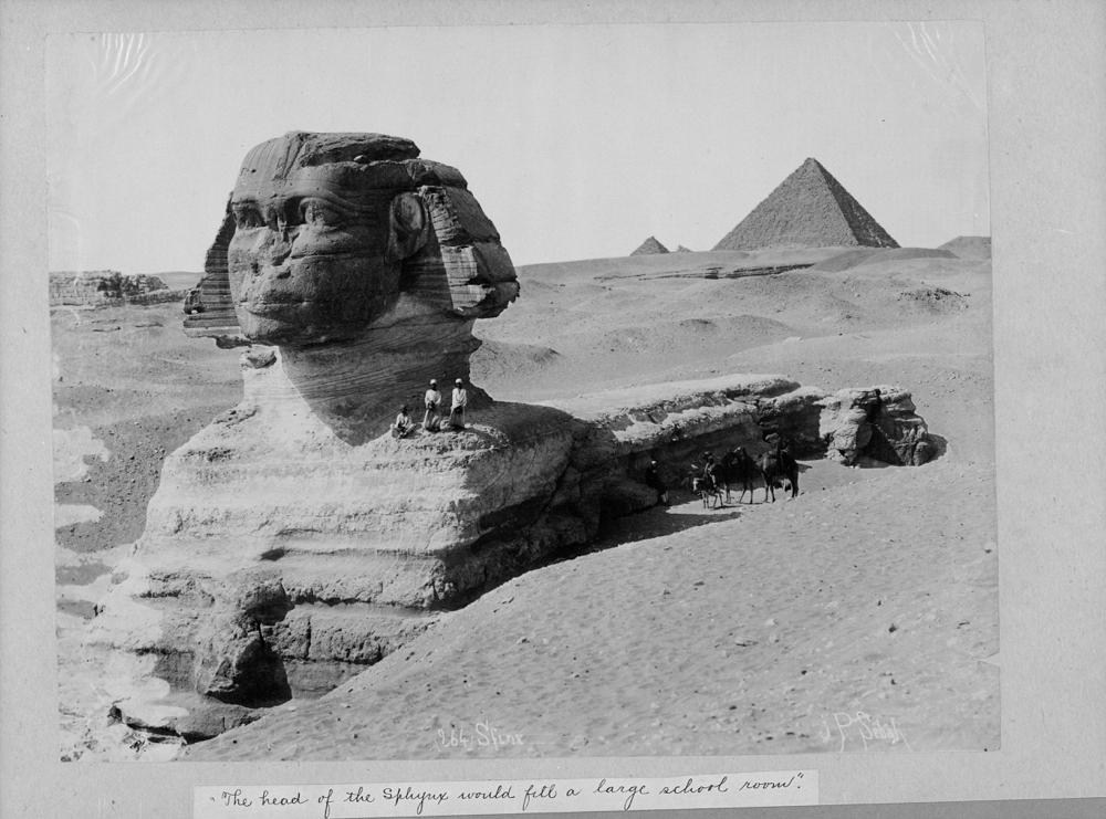 The Sphinx, Egypt