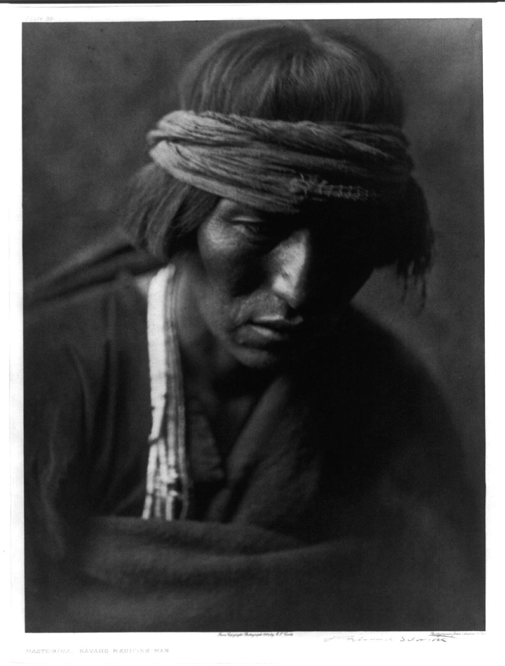 Hastobiga, Navaho Medicine Man