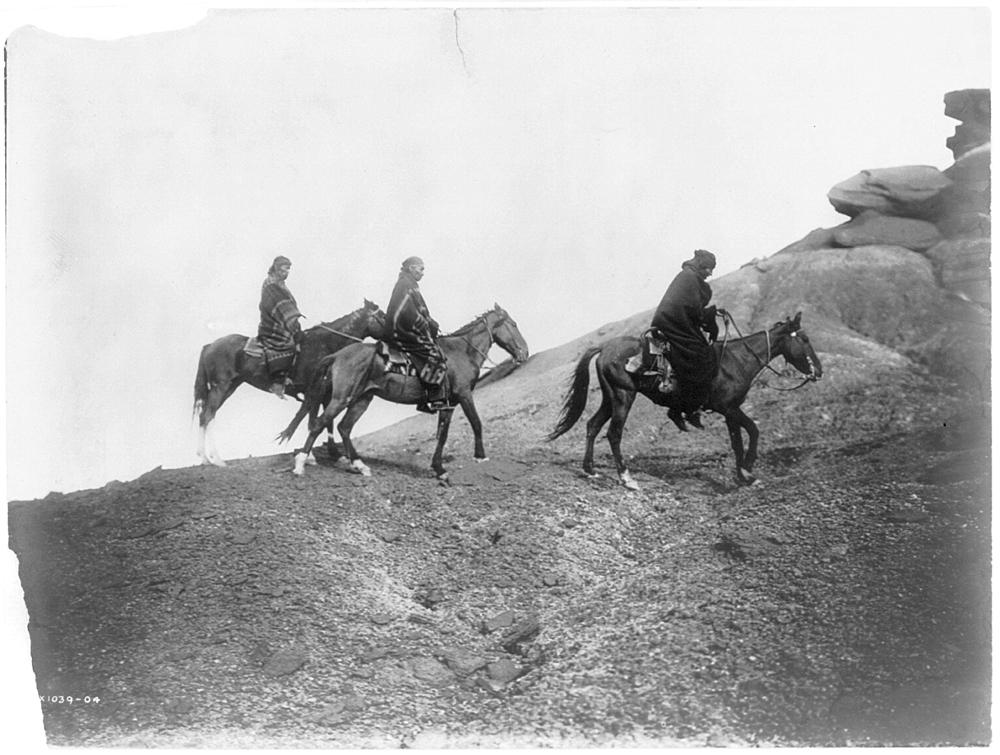 Into the hills--Navaho