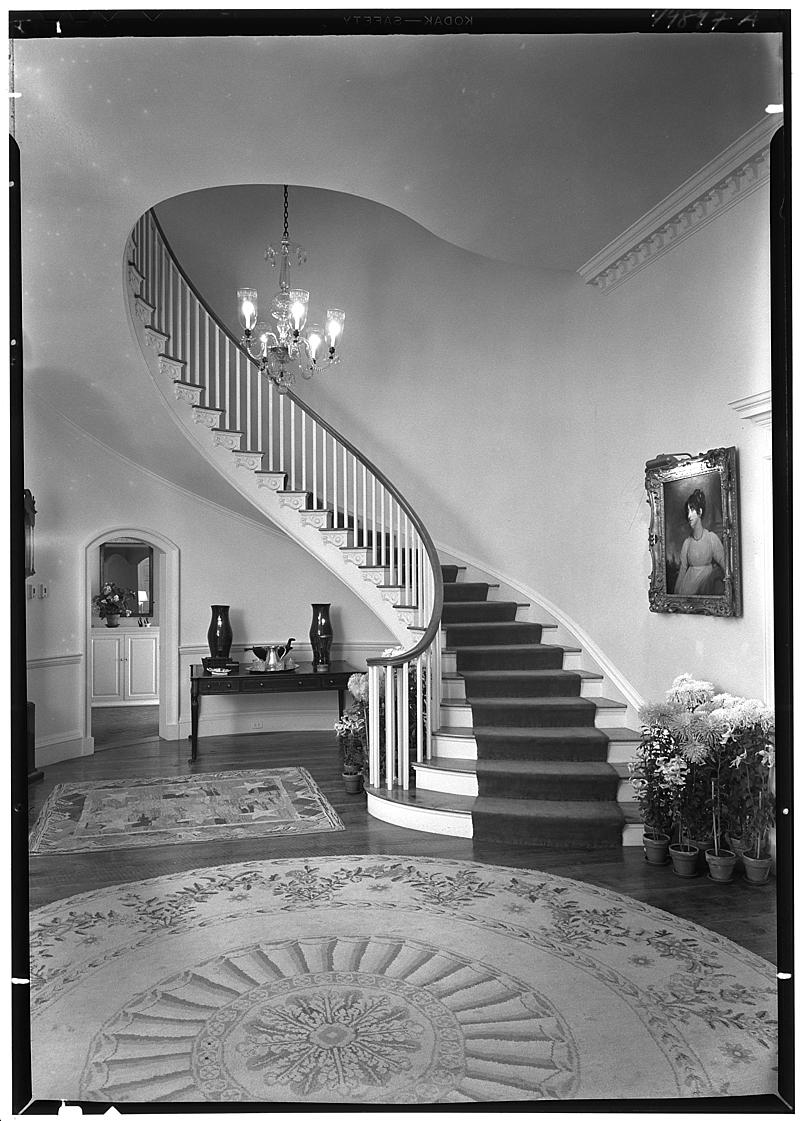 Paul Mellon, residence in Upperville, Virginia
