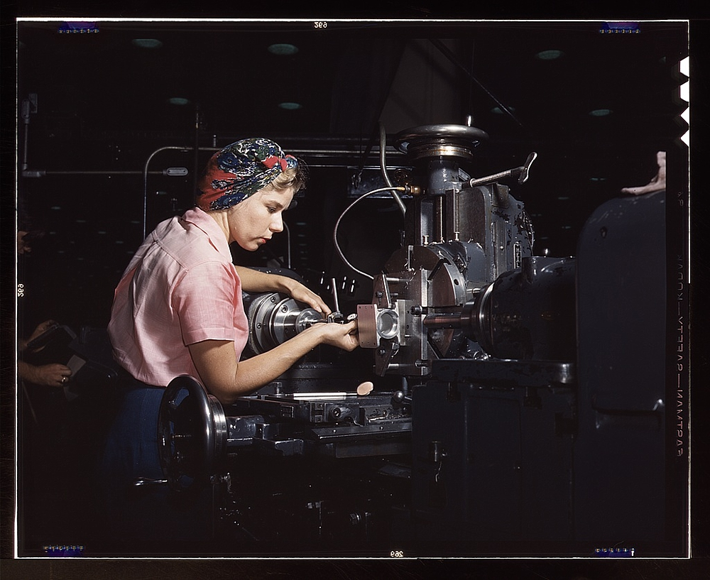 Woman machinist
