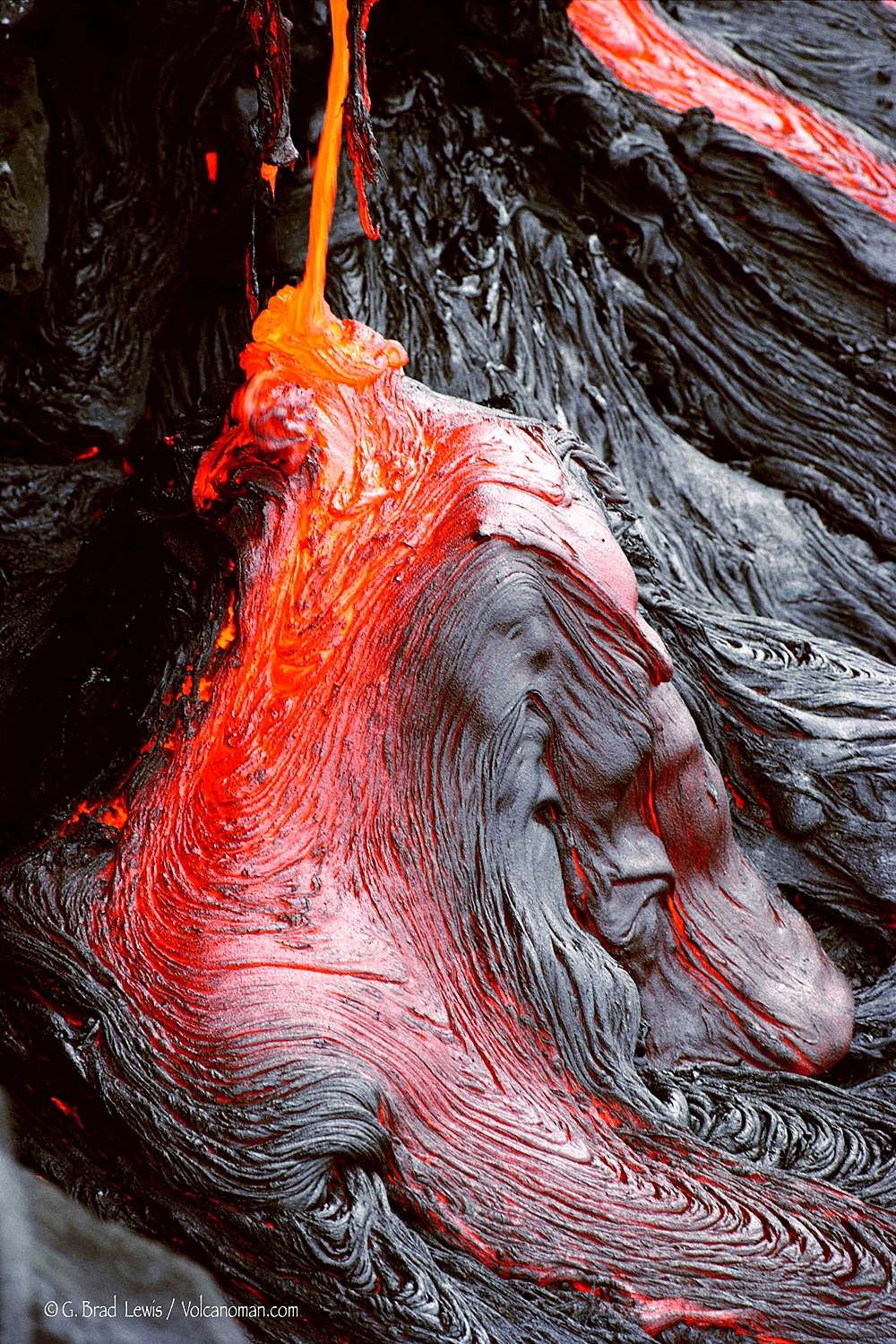 Lava Masquerade - Image by Brad Lewis