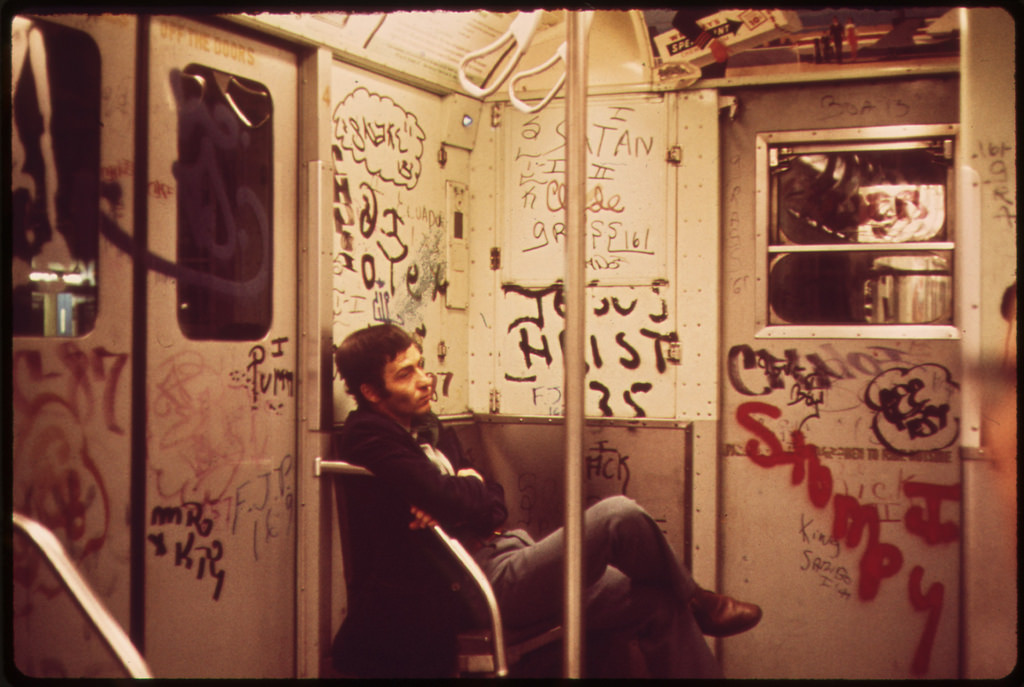 Subway Car. 051973