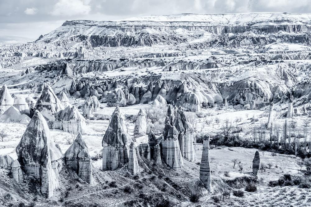 Frozen Guardians, Cappadocia, Turkey