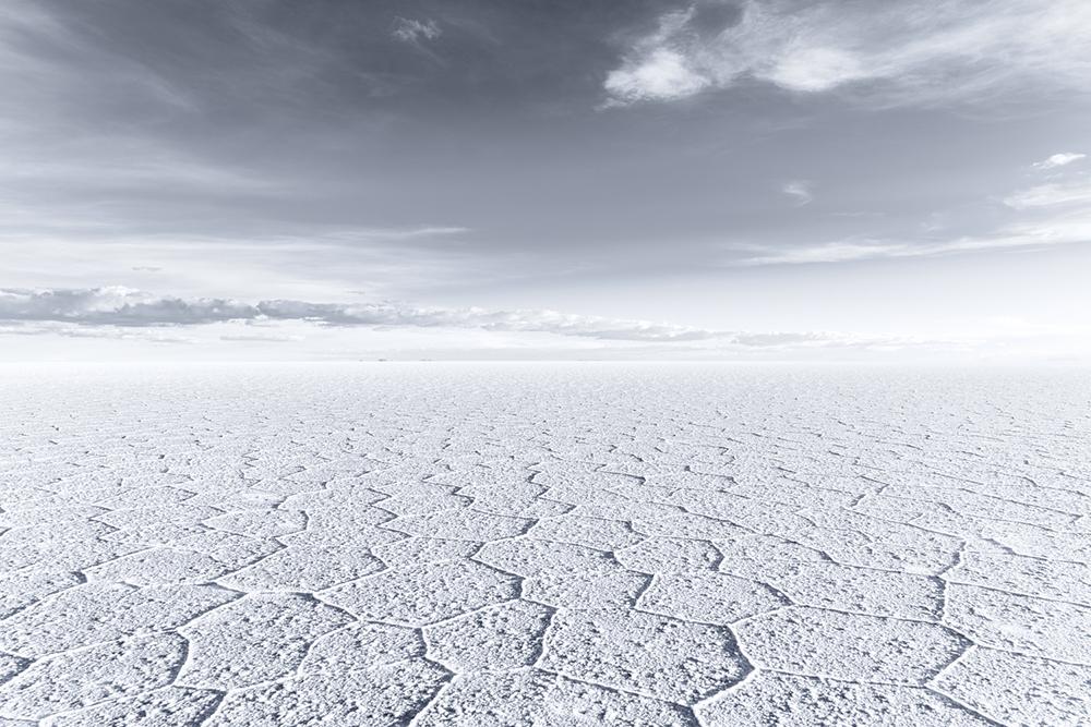 Hexagonal Flat II, Salar de Uyuni, Bolivia