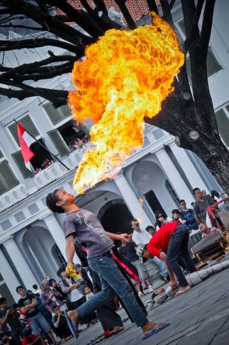 fire blower