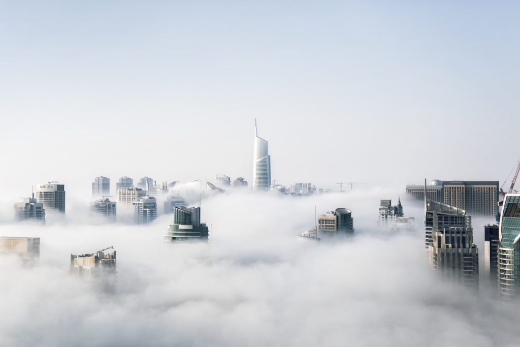 City in Clouds by Aleksandar Pasaric