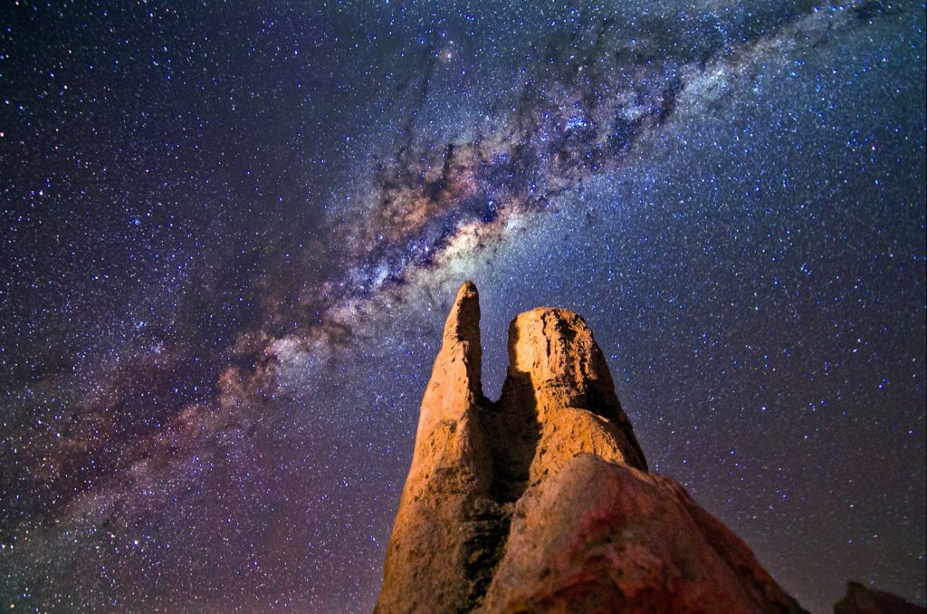 The milky way is a great subject for astrophotography for beginners