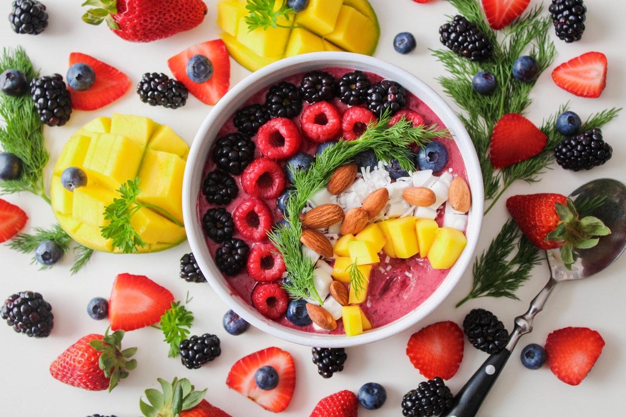 photograph of fruit