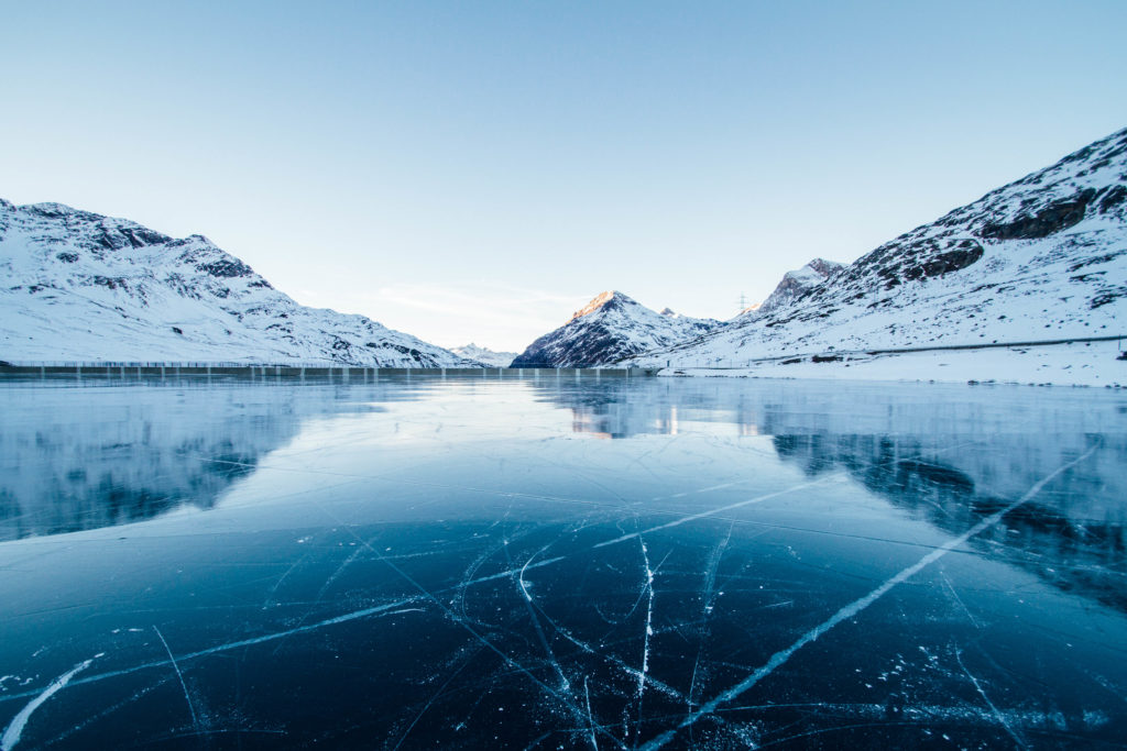 winter wide angle landscape photography
